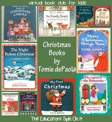 Christmas Books and Activities by Tomie dePaola at The Educators' Spin On It