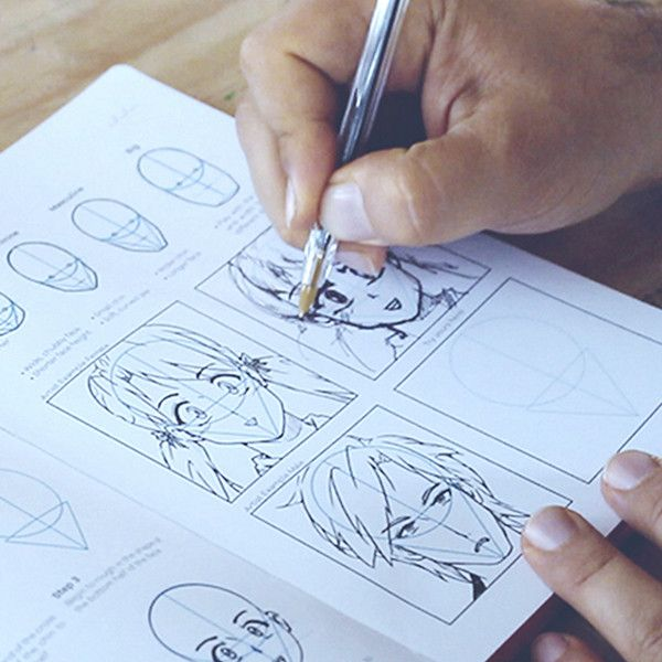 IDRAW MANGA is the ultimate tool for learning the basics of Manga illustration, character design and the art of storytelling. We've designed the ultimate Manga Art field guide by pairing commonly used