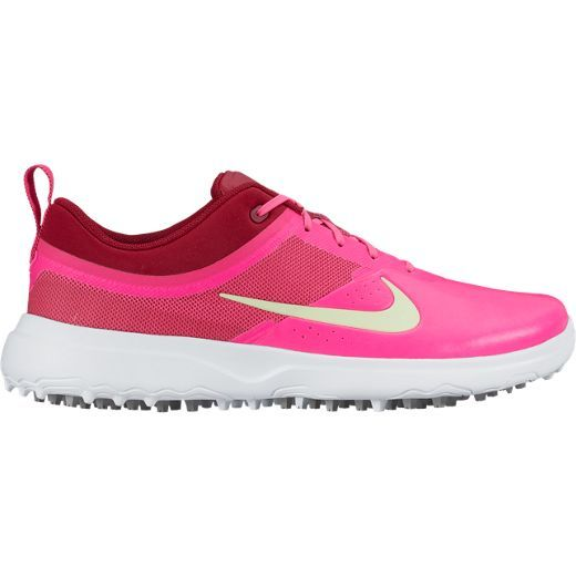 Nike Golf AKAMAI - Golf shoes - pink blast/barely volt/noble red/white Women Golf shoesnike usa basketball backpackThe Most Fashion Designs