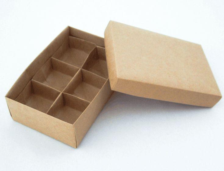 仕切り箱の折り方 Origami Box with divider