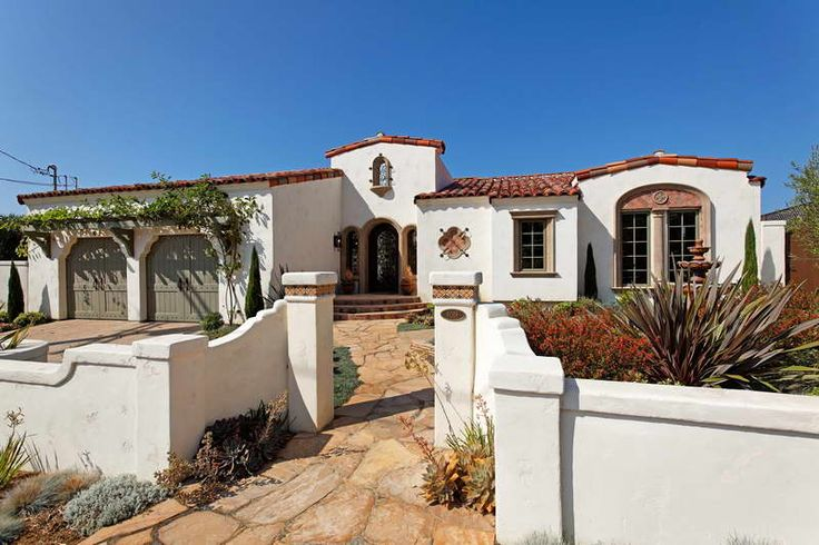 Spanish Style Houses Spanish Style Homes And Exterior Paint Colors On