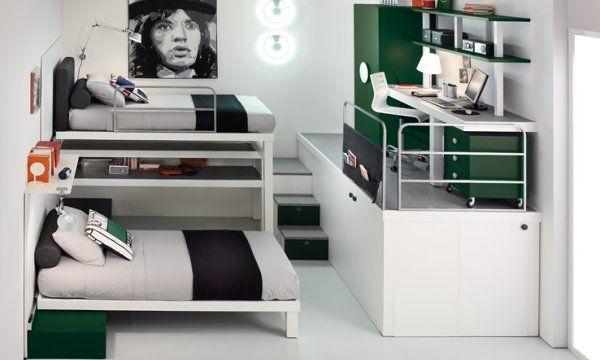 Отличная Экономия Пространства Решения Для Небольшой Подростковой Спальни