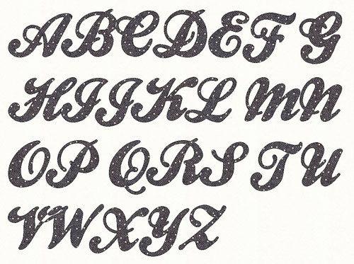 Favoloso Oltre 25 fantastiche idee su Alfabeto carattere su Pinterest  XH71