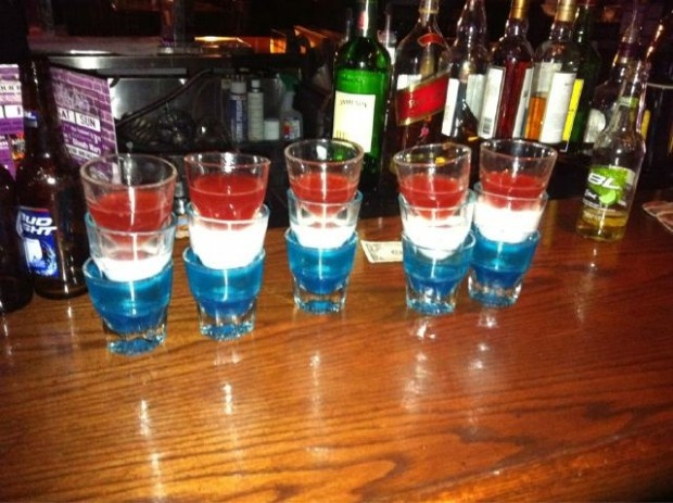 shots shots shots! Patriotic style