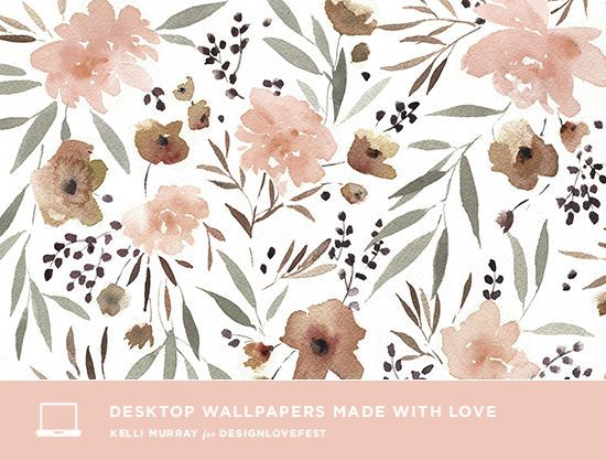 Gorgeous and free desktop wallpapers By Kelli Murray for designlovefest