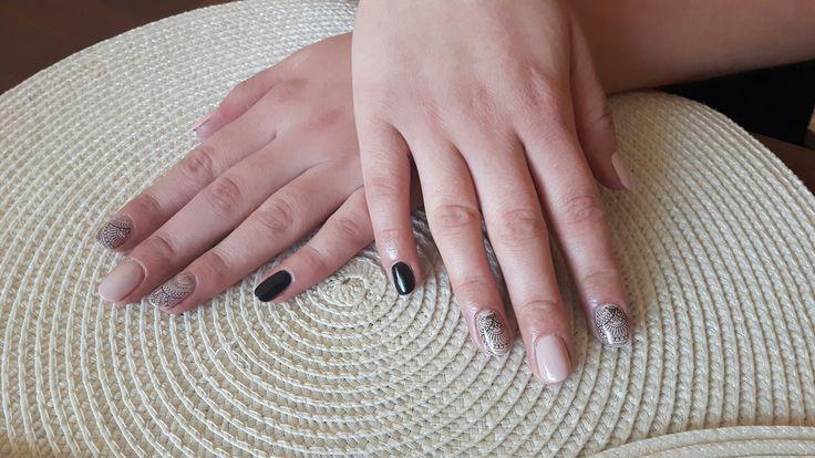Semilac flappe, diamond black
