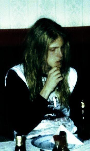 """Dead"" (born Per Ohlin in Sweden) from Norwegian black metal band Mayhem. RIP"