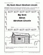 Abraham lincoln book report