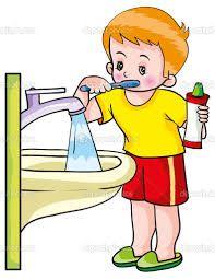 lavado de dientes caricatura - Buscar con Google