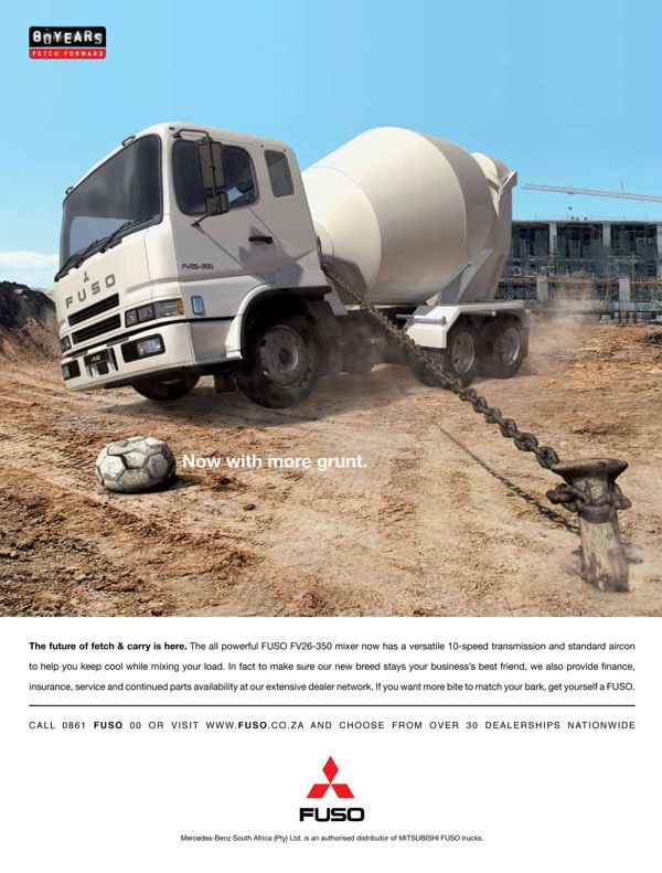 FUSO PRINT ADS by Mandla Duka, via Behance