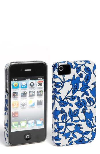 Diane von Furstenberg Saffiano Printed iPhone 4 & 4S Case  A vintage floral print blooms on a rigid case designed to protect the iPhone 4 and 4S.  PVC.    AUD$ 48.64