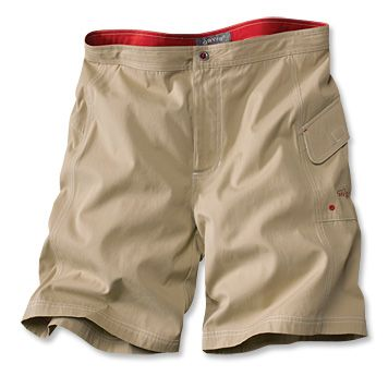 Men's Khaki Shorts / Canvas Driftboat Shorts -- Orvis