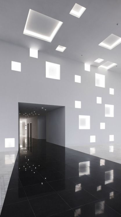 With The Use Of Windows And Light Sako Architects Managed To Create A Surreal Interior Lighting DesignArchitecture