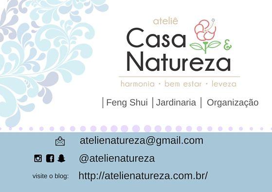 Ateliê Casa & Natureza a marca do bem estar