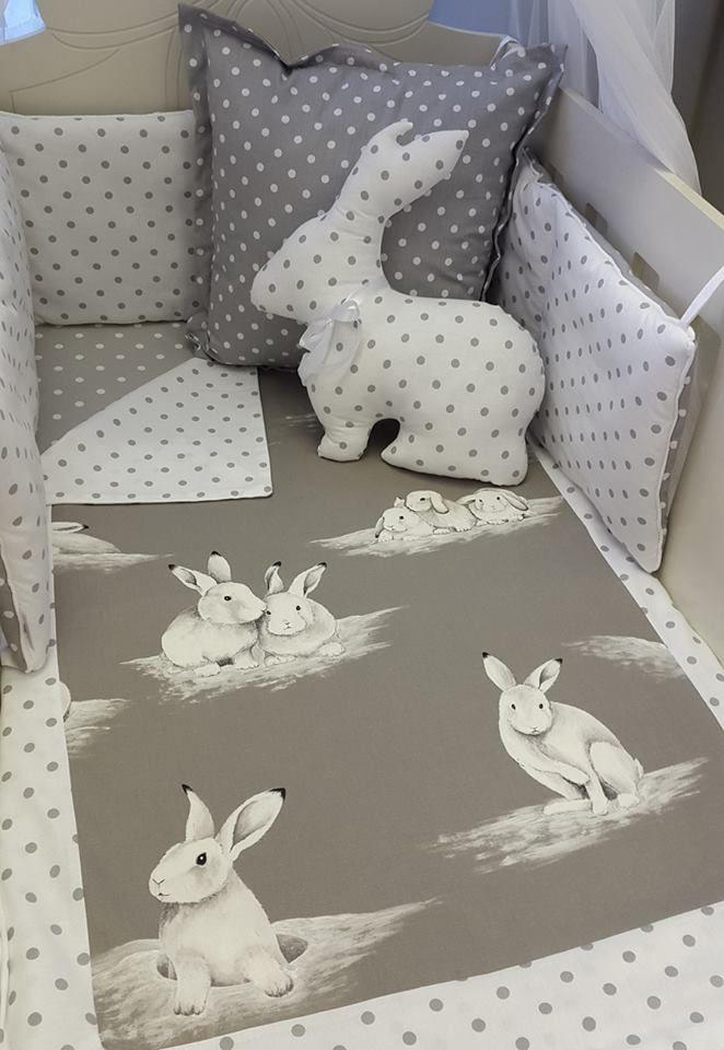 Our #BashfulBunny is great if you're doing a #BunnyTheme #NeutralNursery!   #BabyLinen #BabyBedding