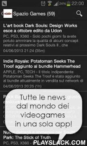 Daily Games Free - News Giochi  Android App - playslack.com ,  Non perdere più una notizia sui tuoi giochi preferiti!Da oggi, grazie a Daily Games, potrai rimanere costantemente aggiornato sul mondo dei videogames, seguendo i maggiori blog italiani del settore.Pagina FB per segnalazioni o proposte: https://www.facebook.com/dailygamesandroid?ref=hl--- CARATTERISTICHE PRINCIPALI ---- Tutte le notizie sui giochi: PC - Microsoft Xbox - Sony Playstation - Nintendo Wii;- Naviga tra articoli, video…