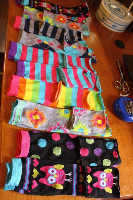 HaddyGraceDesigns: How To Make Leg Warmers