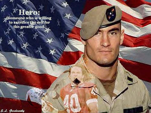 pat tillman a hero or a If we can't all be pat tillmans, we can at least make sure we don't forget him in a  perfect world, men like pat tillman would never die.