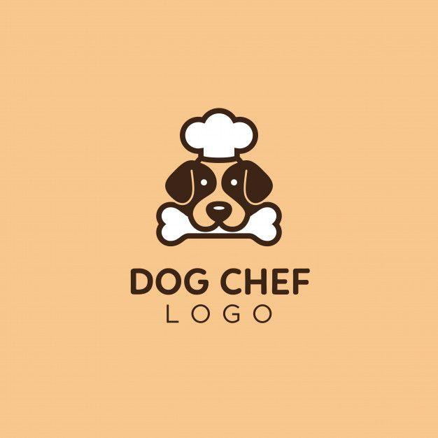 Cute And Simple Dog Food Advisor Chef Logo Dog Food Recipes Dog