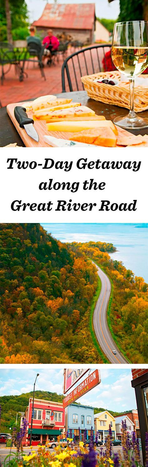 More than 30 small river towns—filled with niche-yet-fascinating museums, creameries, art galleries and pretty inns—dot the bluffs overlooking the Mississippi River along Wisconsin's stretch of the Great River Road: http://www.midwestliving.com/travel/wisconsin/two-day-getaway-along-the-great-river-road/ #wisconsin #travel #roadtrip