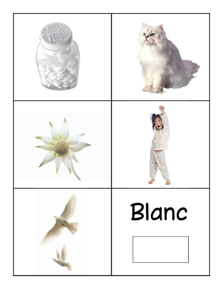 kleuren leren wit
