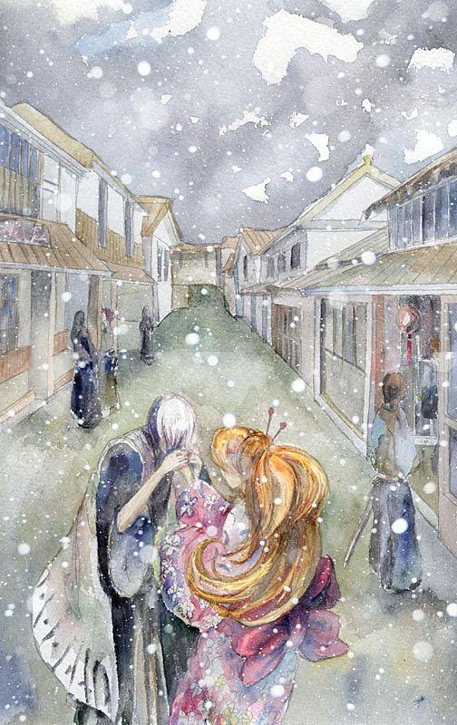 Last winter by koganeiro.deviantart.com on @deviantART