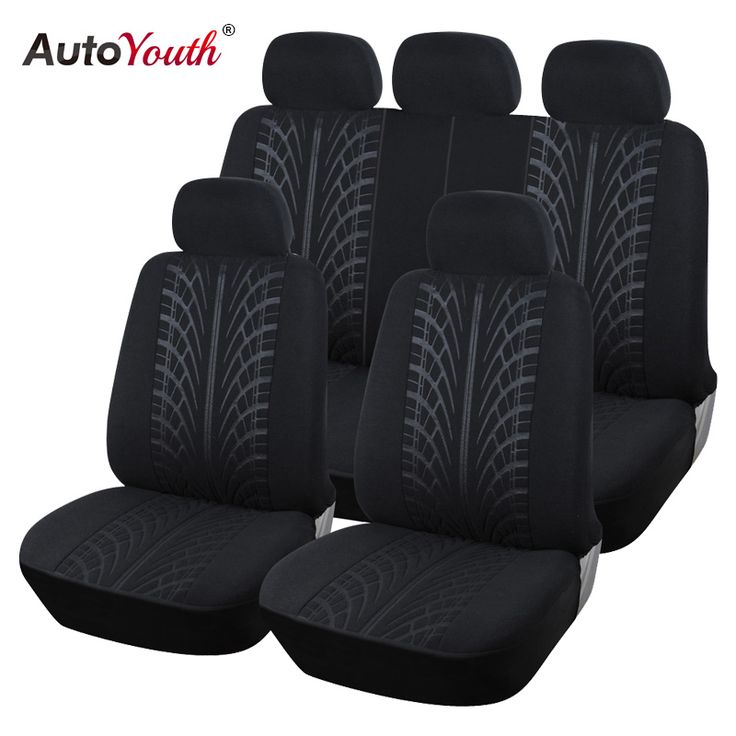 AUTOYOUTH New Arrival Looped Fabric Full Car Seat Cover Universal Fit Most Brand Vehicles Seat Covers Black Car Seat Protector