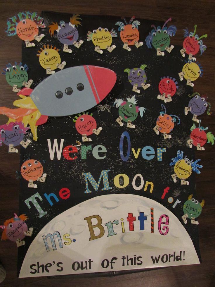 space themed teacher appreciation | Teacher Appreciation Week