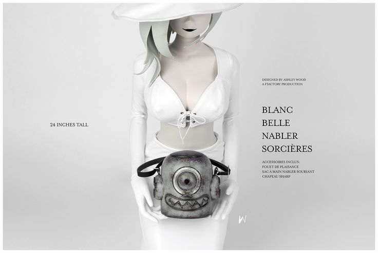 BELLE NABLER SORCIÈRES LTD EDITION ONE 3RD Scale Collectible Figure Series available at BAMBALAND.com on first come, first served basis. Full info and more pics: http://www.worldofthreea.com/threea-production-blog/witches2017 #threeA #AshleyWood #AshleyWoodArt #WorldOf3A #WO3A #F3ACTORY #WOIP