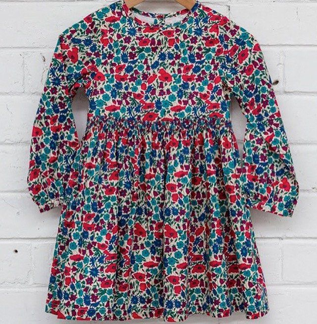 Pretty Wild Eva Liberty Dress - Plum
