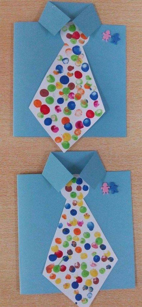 Kağıt kravat yapıp, hazırlayıp hediye etmek ister misiniz? Babalar günü hediyesi için ilginç bir fikir ile babanızı şaşırtıp kağıt kravat