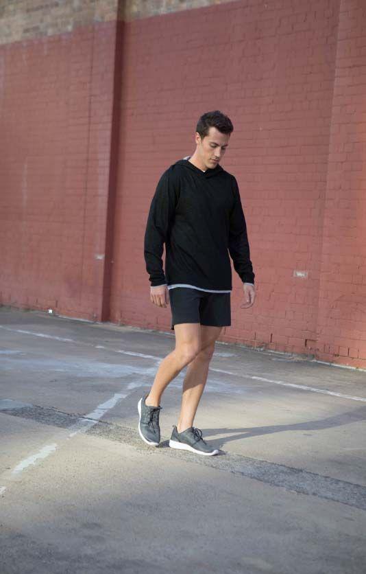 Non Stop Shorts in black | Cobba launch collection | Men's fashion | Men's shorts | Urban men | City life | Urban living | Mid length | Black |