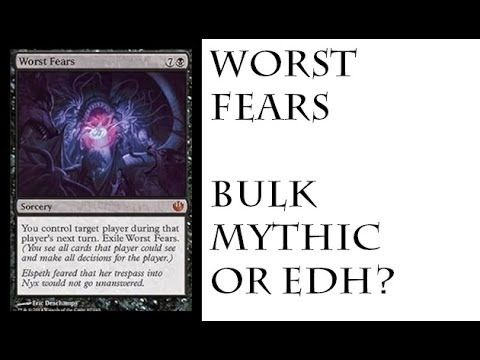 Worst Fear, Journey into Nyx Spoilers, Worst Mythic