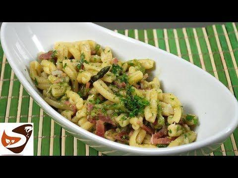Pasta con asparagi selvatici e speck – Facile e gustosa – Primi piatti – You…
