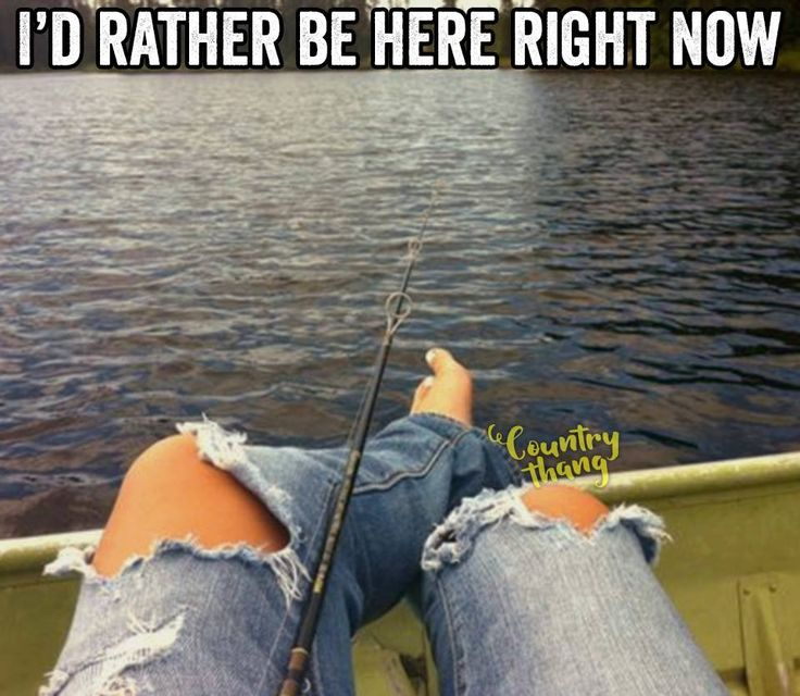 I'd rather be here right now. #countryfishing #fishing #countrylife…