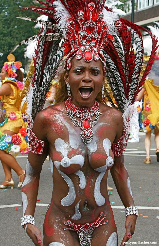 Notting hill carnaval sexy