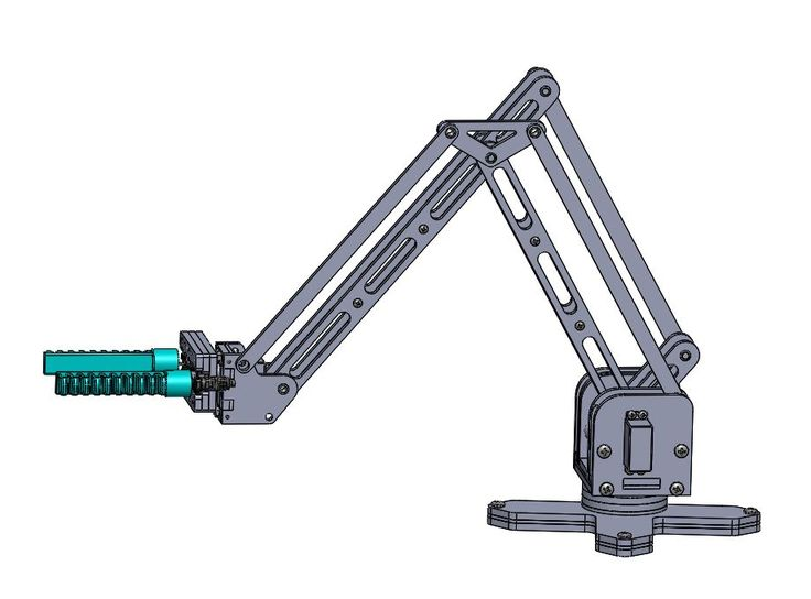 Sea Reach A Scalable Deep Sea Robotic Arm Solidworks