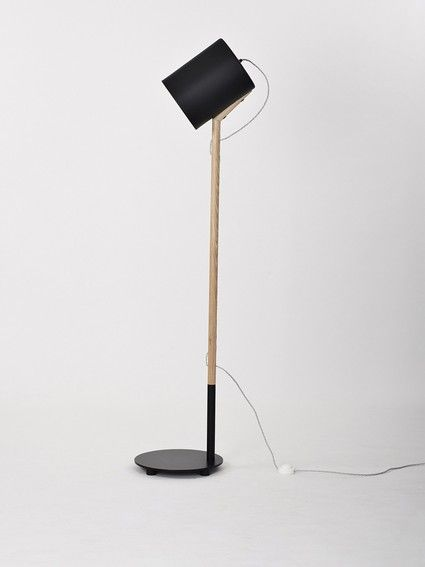'Lean' Floor Lamp Made by Douglas and Bec - Douglas + Bec