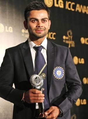 ICC awards 2012 Virat Kohli named ICC ODI Cricketer of the Year, Kohli ODI Player of the Year,Kohli ICC awards