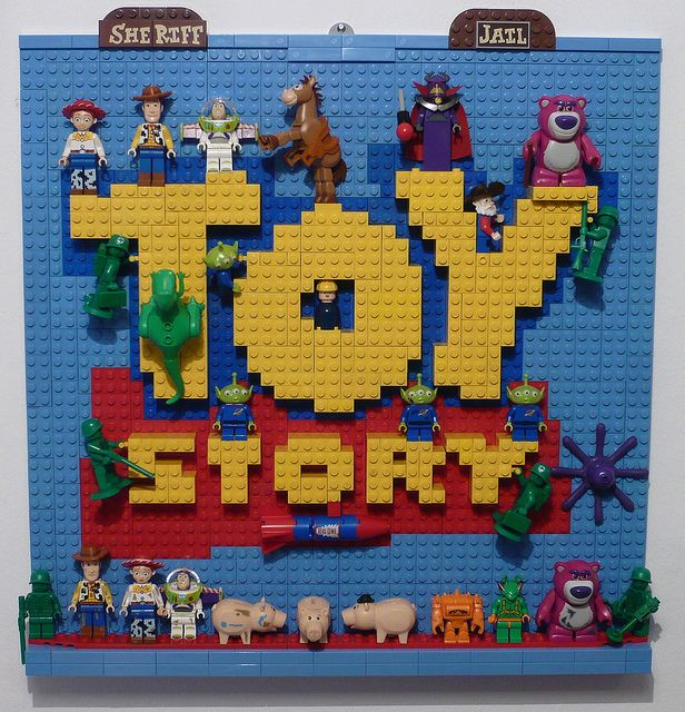 "LEGO  "" Toy Story"" by Brucewaynelego-Toyshansolo, via Flickr"
