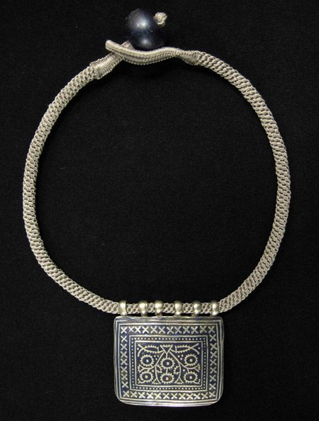 294 best silver images on pinterest silver jewelry tribal jewelry this is an amulet from multan punjab in what is now pakistan the pattern is engraved into the silver then filled in with a dark blue enamel aloadofball Choice Image