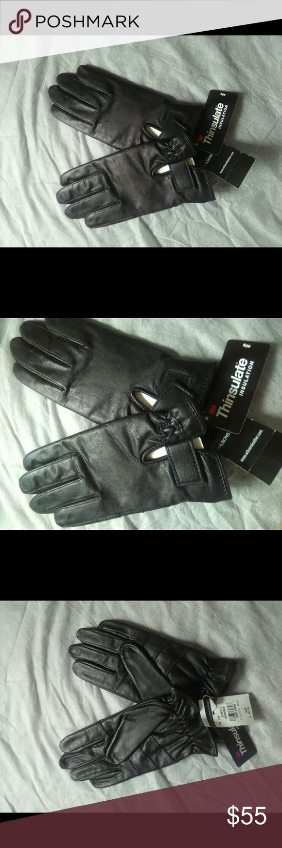 Mens gloves use iphone - Leather Gloves Softest Men S Nwt