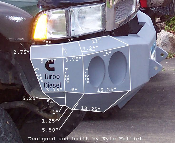 Off Road Bumpers: Off Road Bumpers Plans
