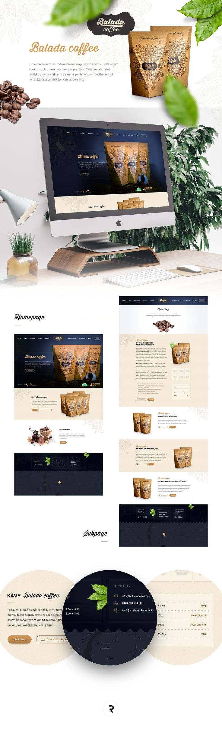 """Check out my @Behance project: """"Balada coffee""""…"""