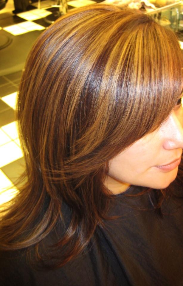 hair highlights style 49 best dimensional hair color images by hair excellence 7591 | 108645c929d9f245e58b9a965cb1171a caramel highlights hair highlights