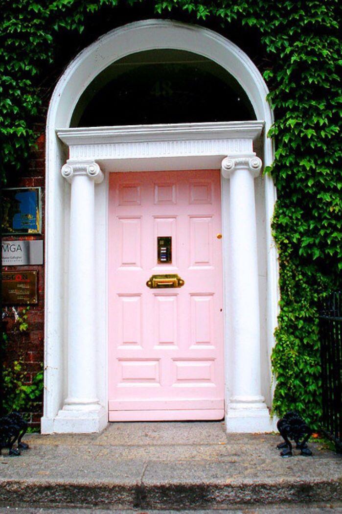 Dream door with ivy