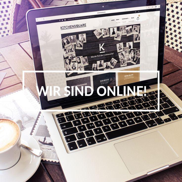 WIR SIND ONLINE! www.kitchensquare.de