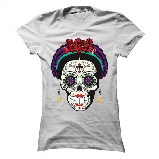 Sugar Skull - Girl - #teestars #t shirt company. MORE INFO => https://www.sunfrog.com/LifeStyle/Sugar-Skull--Girl-Ladies.html?60505