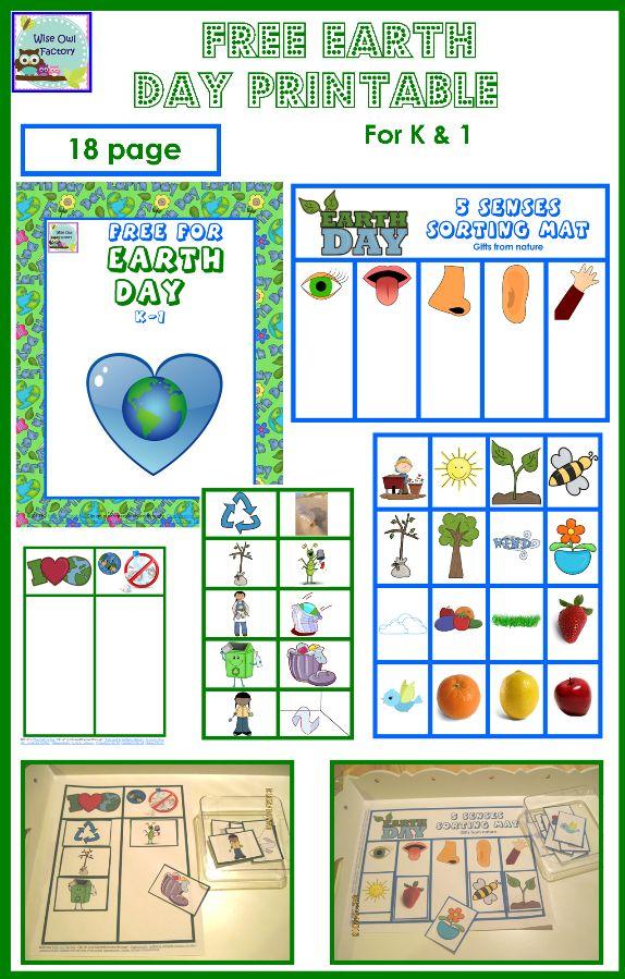 free earth day printable