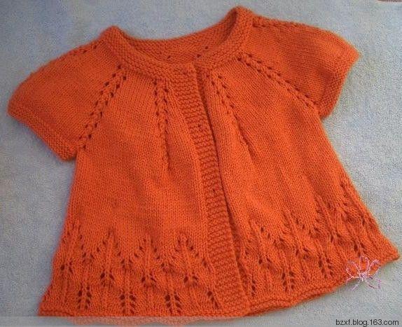 Child sweater - knit happy - happy knitting blog